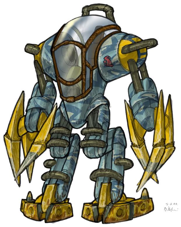 Jak 2 Titan Suit