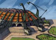 Mar Memorial Stadium concept art