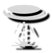 Blind drone icon