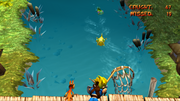 Fishing minigame