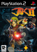 Jak II unused European front cover