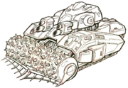 Security tank concept art