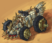 Leader marauder's buggy concept art