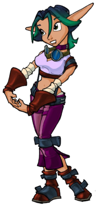 Keira Hagai Jak Daxter The Precursor Legacy Wiki Fandom