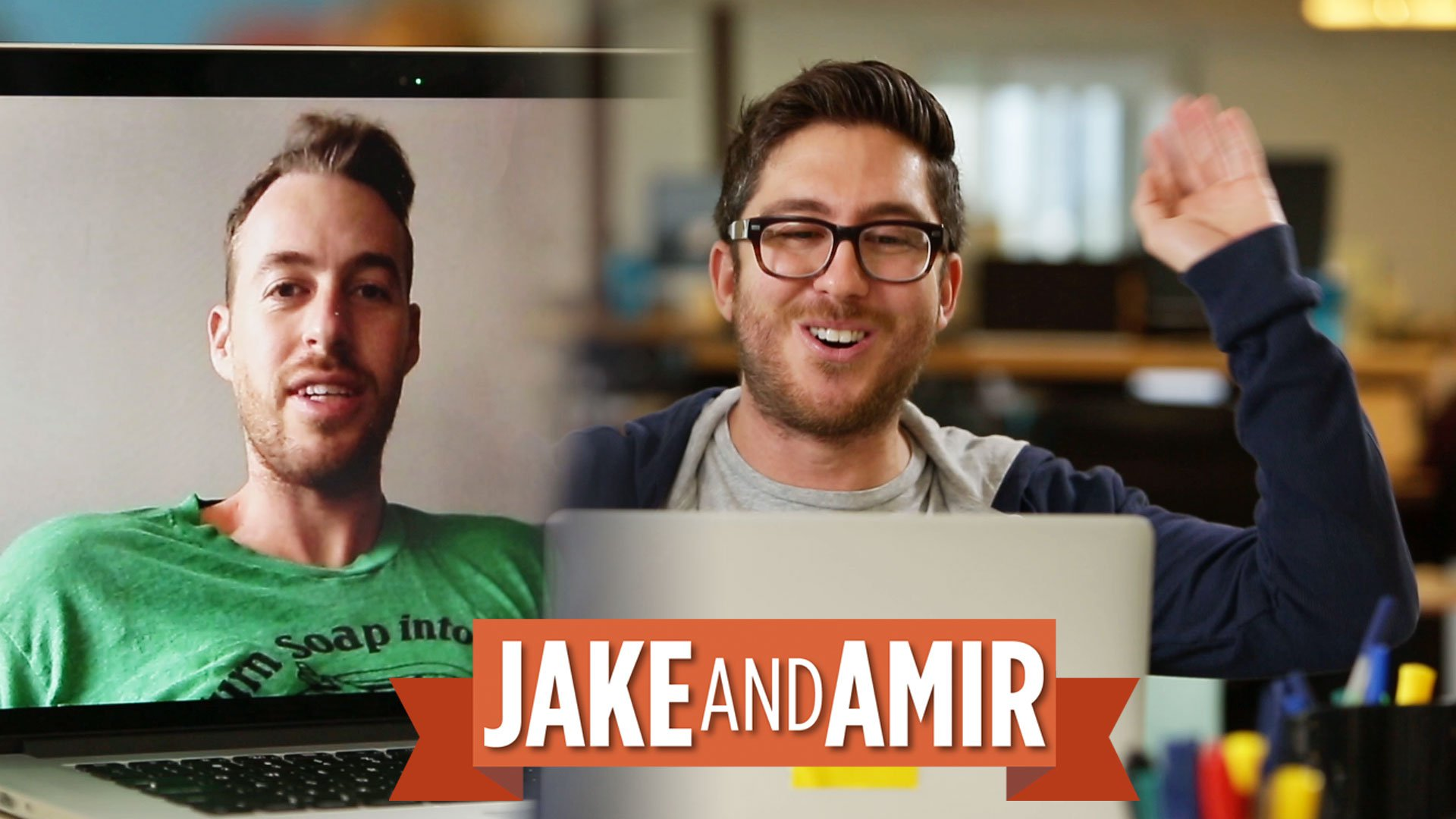 Jake And Amir Wallpaper