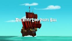 The Never Land Pirate Ball titlecard