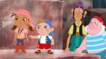 Izzy&Cubby&Bones&Smee -The Legion of Pirate Villains!