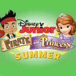Jake&Sofia-Disney Junior Pirate and Princess Summer
