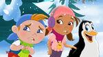 CubbyIzzy&PercyThe Legendary Snow-Foot!