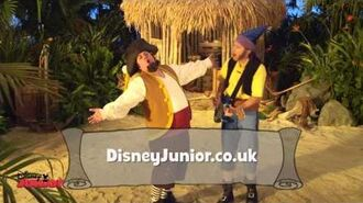 Jake and The Never Land Pirates Merry Christmas Song Disney Junior UK