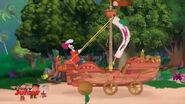 Sail wagon-Captain Hook's New Hobby