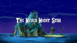 The Never Night Star title card