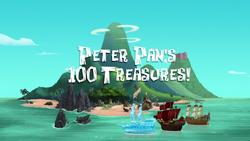 Peter Pan's 100 Treasures titlecard