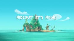 Hideout…It's Hook! title card