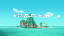 Hideout…It's Hook! title card