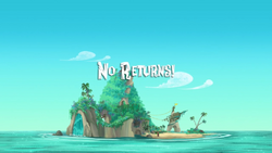 No Returns! title card