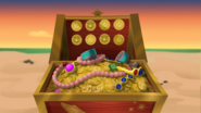 Gold Dubloons in Team Treasure Chest