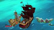Bucky&Jolly Roger-Ahoy, Captain Smee!02