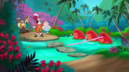Icky Big Red Frog Pond- The Never Land Pirates Ball01