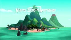 Happy 1000th Birthday! title card