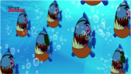 Pirate Piranhas were happily - Attack of the Pirate Piranhas