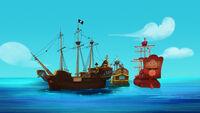 JollyrogerBucky&Rose-Hook's Playful Plant!01