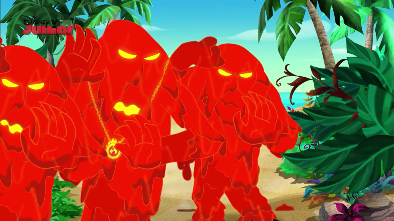Lava Monsters | Jake and the Never Land Pirates Wiki | FANDOM