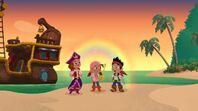JakeIzzyPirate Princess-The Never Rainbow