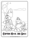 Disney Coloring Pages-JNP Hook and Smee