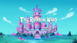 The Rainbow Wand titlecard