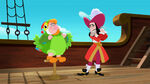 Hook&Smee-Captain Hook Parrot