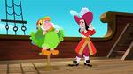 Hook&Smee-Captain Hook Parrot