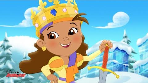 Jake and the Never Land Pirates Queen Izzy-Bella Song Disney Junior UK