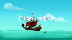 The Sky's the limit titlecard