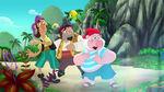 SkullySharkyBones&Smee-Pirate-Sitting Pirates