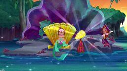 Queen Coralie& Pirate Princess-Trading Treasures