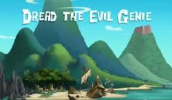Dread the evil genie titlecard