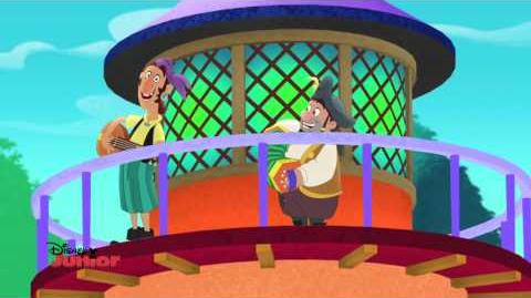 Jake and the Never Land Pirates Putt Putt Song Disney Junior UK