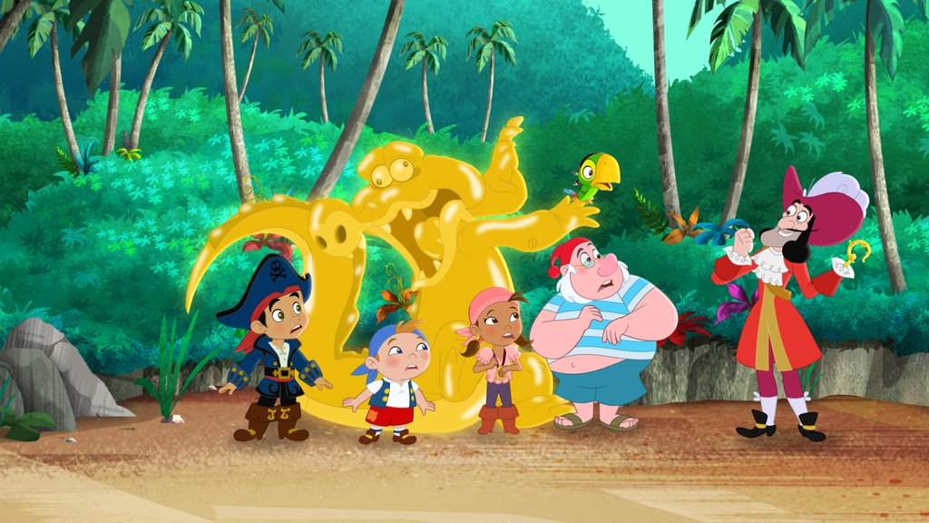 Image - Groupshot-The Golden Hook.jpg   Jake and the Never Land ...