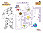 Cubby-marble maze