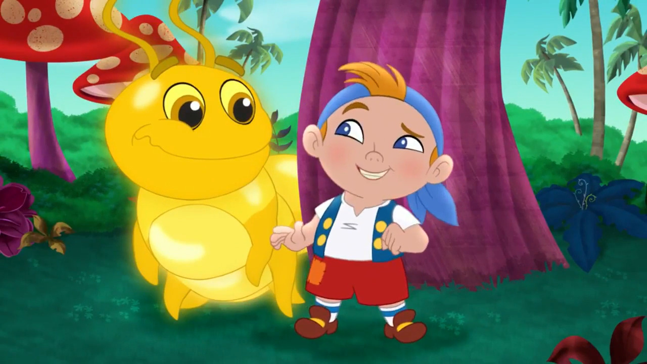 Image - Cubby&Golden Caterpillar-Big Bug Valley!.jpg   Jake and the ...