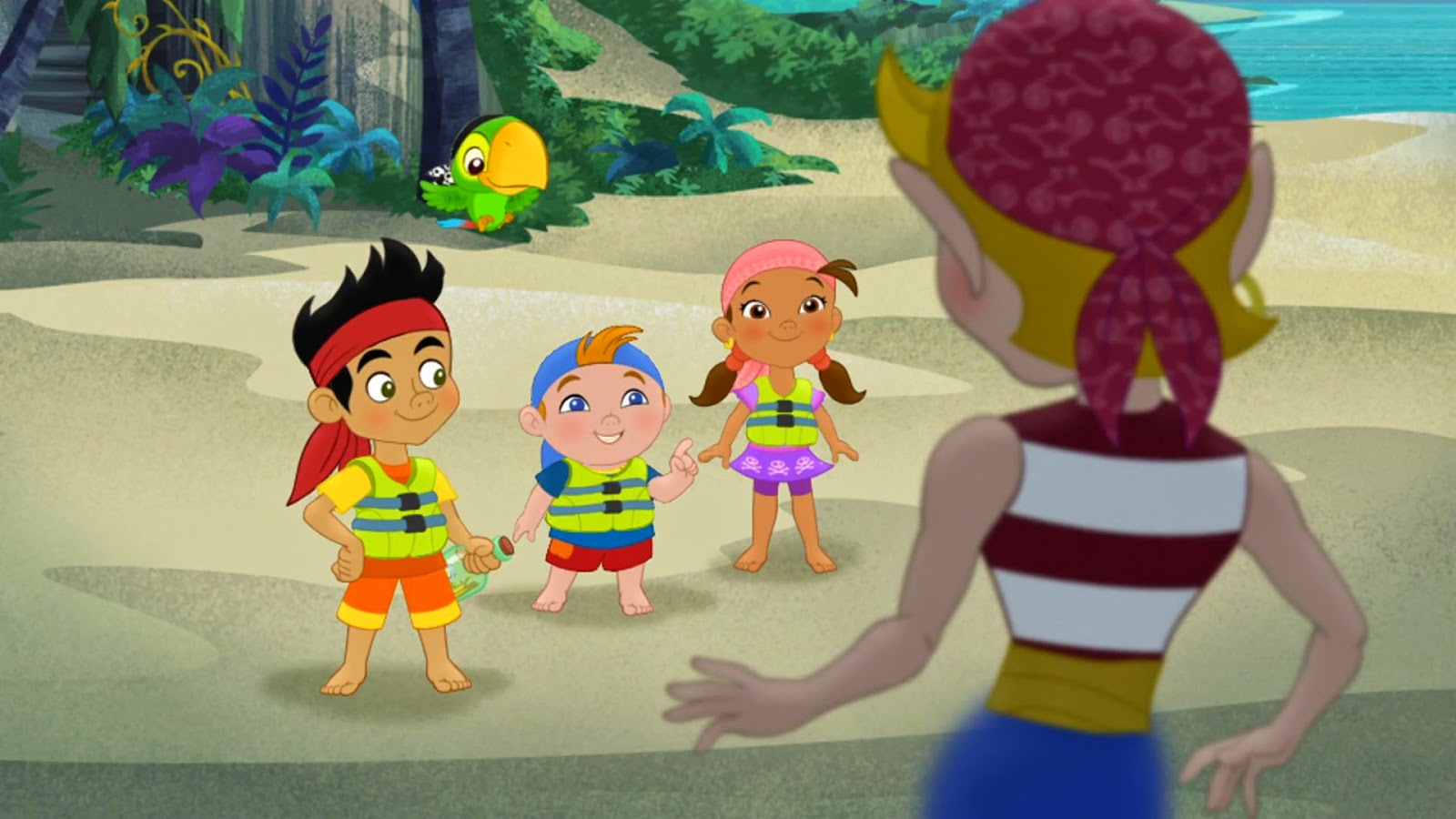 Image - Jake&crew-Pirate Genie-in-a-Bottle!04.jpg   Jake and the ...