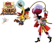 TinkJakeHook-Battle for the Book promo art