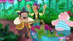 SharkyBones&Smee-Pirate-Sitting Pirates