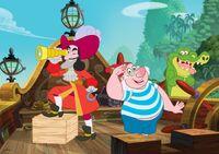 Captain HookSmee&Tick-Tock