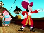 Hook&Smee-Bucky Makes a Splash