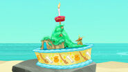 Pirate island cake-Jake's Birthday Bash01