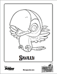 Jake and the NeverLand Pirates Coloring Sheet - Skully