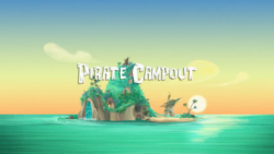 Pirate Campout titlecard