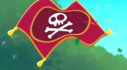 Pirate flag-Pirate Genie-in-a-Bottle!01